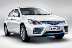 江淮iEVA50纯电动即将预售 续航500公里