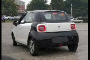 保留概念车设计 长城欧拉R1量产版谍照