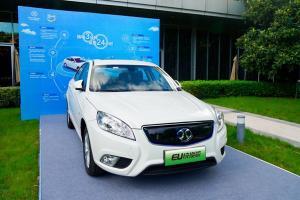 EU300换电版实力亮相 产品/模式双创新