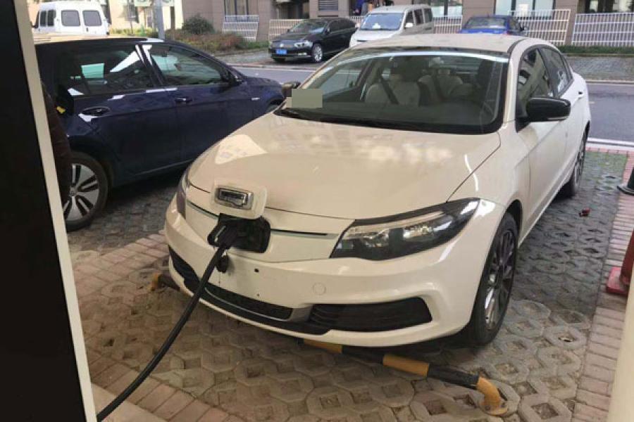 观致3 EV500纯电测试车曝光 充电效率不低