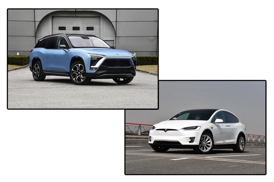 来自心底的用车需求 蔚来ES8对比特斯拉Model X