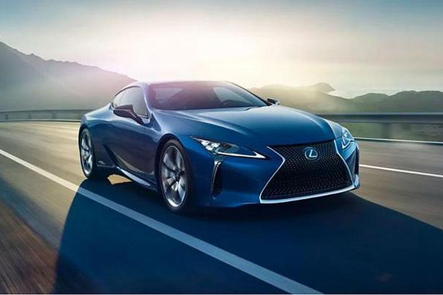 雷克萨斯EV概念车曝光 或成品牌首款电动车