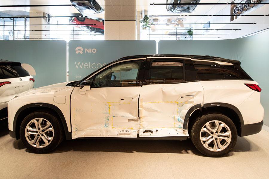 除了CNCAP碰撞5星之外 聊聊蔚来ES8的整车工程安全